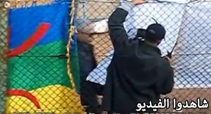 الأمن يُزيل صورة عبد الكريم الخطابي من ملعب أسفي