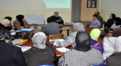 عبد الله بوغوتة يؤطر دورة تكوينية لفائدة مؤطرات بدار البر للطالبات