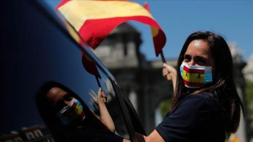 """إسبانيا تعلن """"حالة الطوارئ """"مجددا بعد الارتفاع الصاروخي في أعداد الإصابات بكورونا"""