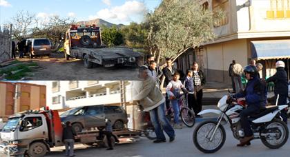 أكبر تدخل أمني لشرطة زايو يسفر عن حجز 7 مقاتلات ويتزامن مع حملة تمشيطية لفرقة الصقور بالمدينة