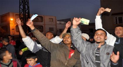 احتجاجات على الأمن بمدينة زايو بعد الحجز عن المقاتلات
