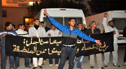 سكان زايو يواصلون احتجاجهم ضد المقاربات الأمنية التي تعمل بها مصالح الشرطة بالمدينة