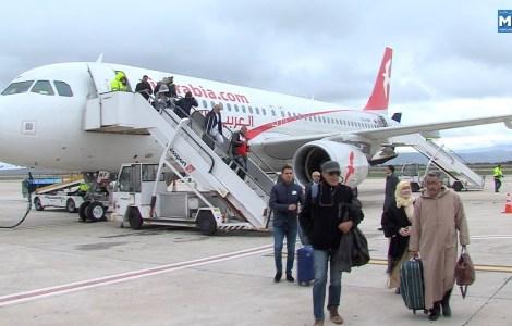 """""""شركة العربية للطيران"""" تطلق رحلة جديدة بين المغرب وفرنسا"""