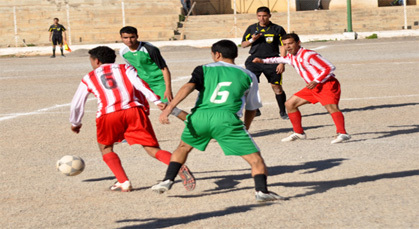 اتحاد زايو يفوز في مباراته ضد فريق نادي الزرايب لمداغ