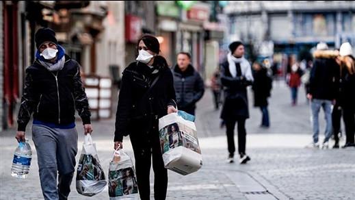 بلجيكا تعود إلى حجر صحي جزئي لوقف إنتشار فيروس كورونا