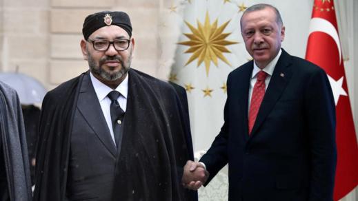 الملك محمد السادس يوجه برقية إلى الرئيس التركي أردوغان