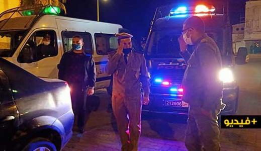 السلطات العمومية تقود حملة تمشيطية بأرقى حي بالناظور وهذا ما عثرت عليه