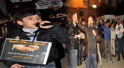 ساكنة مدينة زايو يواصلون احتجاجهم ضد الأمن لليوم السادس على التوالي