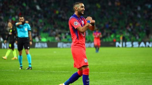 جماهير تشيلسي تختار حكيم زياش كأفضل لاعب لفريقها بدوري أبطال أوروبا