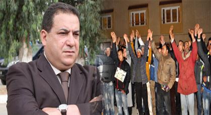 والي الأمن محمد الدخيسي يحل بمدينة زايو ويجتمع ببعض الشباب المحتج حول مطالبهم