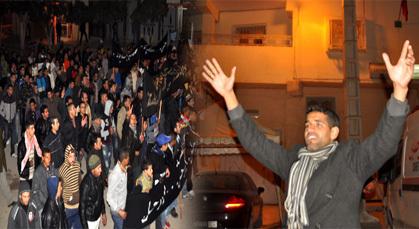 ساكنة زايو تستأنف احتجاجتها وتدعو الى اتخاذ الإجراءات اللازمة في حق بعض الأمنيين