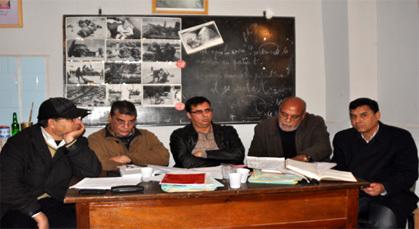 جمع عام ماراطوني دام 6 ساعات لاختيار أعضاء مكتب الجمعية المغربية لحقوق الإنسـان فرع زايو