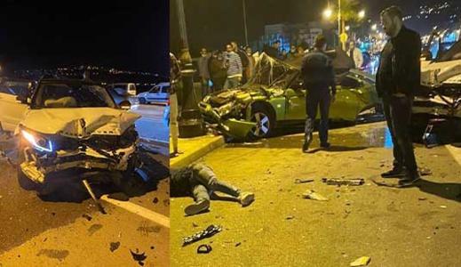 وفاة شخص وإصابة آخرين في حادثة سير خطيرة