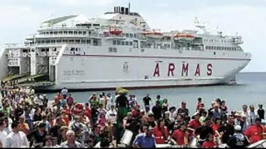 """شركة """"أرماس"""" التي تربط الناظور بالموانئ الإسبانية تنفي إفلاسها"""