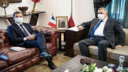 وزير داخلية فرنسا يناقش في المغرب خطر المهاجرين المتطرفين