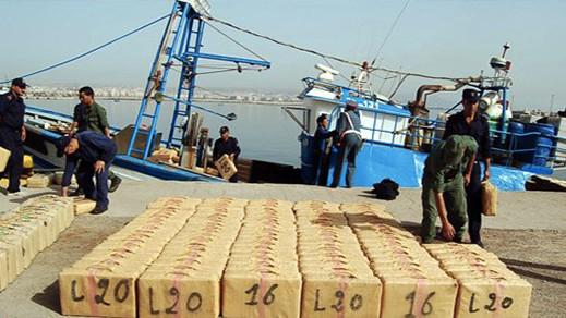 الحسيمة.. البحرية الملكية تعترض قاربا على متنه كمية كبيرة من المخدرات