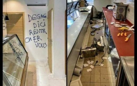 """فرنسا.. متطرفون يخربون محلا لبيع اللحم """"الحلال"""" في مدينة نانت"""