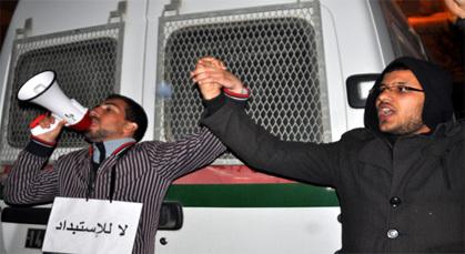 المحتجون بزايو يتوعدون بالتصعيد اذا لم تستجب مطالبهم خلال يومين