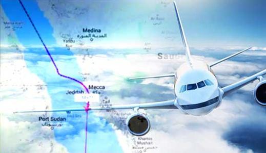 سابقة بالسعودية.. السماح للطائرات الإسرائيلية بالتحليق فوق سماء مكة المكرمة