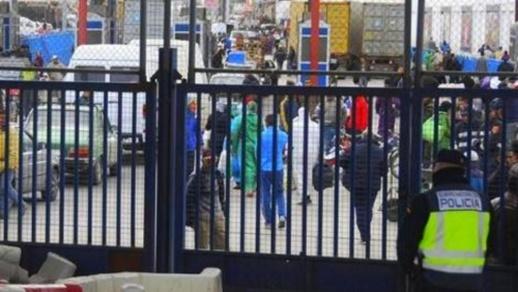 قرار أحادي للسلطات الإسبانية يعلن عن تاريخ فتح الحدود مع مليلية المحتلة