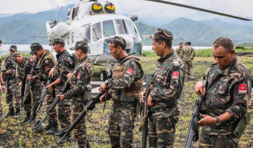 الجيش المغربي يعلن وضع حزام أمني بالكركرات.. واستعمال السلاح من أجل الدفاع عن النفس