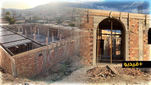 """نداء للمحسنين من أجل المساهمة في إتمام أشغال بناء مسجد """"الرحمة"""" بالناظور"""