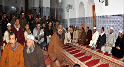 المجلس العلمي المحلي للناظور ينظم حفلا دينيا بمسجد الرحمة بزايو