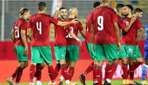 ملخص المباراة.. المنتخب المغربي يتفوق على إفريقيا الوسطى بفضل هدف وتمريرة زياش