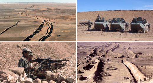 المغرب يباغت البوليساريو وينتهي من بناء جدار عازل حتى الحدود الموريطانية
