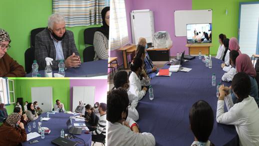 لقاء حول مشروع تطوير المهارات الحياتية لدى المتعلمين بثانوية بني أنصار