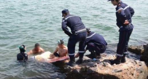 مفجع.. مصرع شرطي غرقاً بعد سقوط سيارته في ميناء طنجة