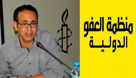 منظّمة العفو الدولية تشيد بتبرئة الحقوقيّ الناظوري عمر الناجي من التهم الموجهة له من طرف ابتدائية الناظور