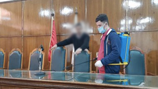 نقابة تؤكد تحول محاكم الناظور لأكبر بؤرة مهنية لكورونا بالجهة الشرقية