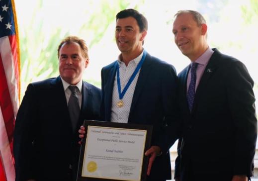 """العالم المغربي """"كمال الودغيري"""" ينال جائزة 2020 لعلوم الفضاء"""