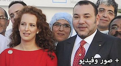 لأول مرة..الملك محمد السادس رفقة عقيلته الأميرة للا سلمى لتدشيين مركز لعلاج السرطان