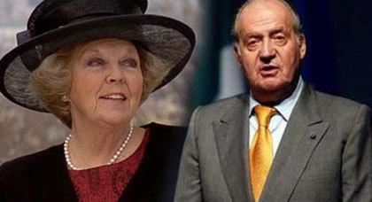عدوى تنازل ملكة هولندا عن العرش تصل الى اسبانيا، وملكها قد يتنازل عن العرش لصالح ابنه