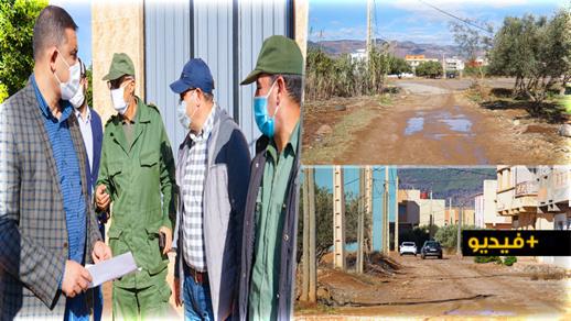 مجعيط يُشرف على إعطاء انطلاقة أشغال إعادة تهيئة شوارع بحي عاريض بـ700 مليون سنتيم