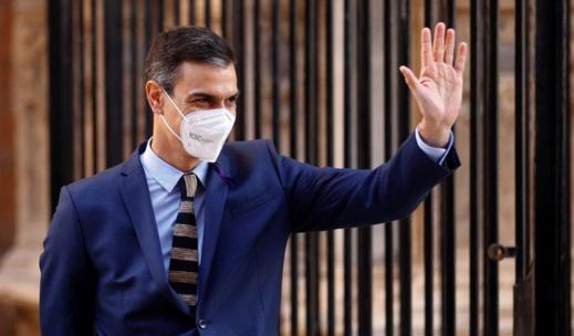 الوزير الأول للحكومة الإسبانية يعلن دخول بلاده مرحلة نهاية فيروس كورونا المستجد