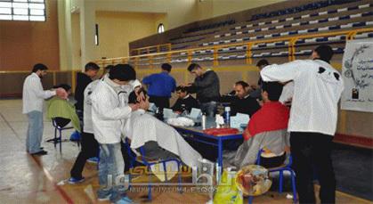 مدينة زايو تحتضن إقصائيات البطولة الوطنية للحلاقة