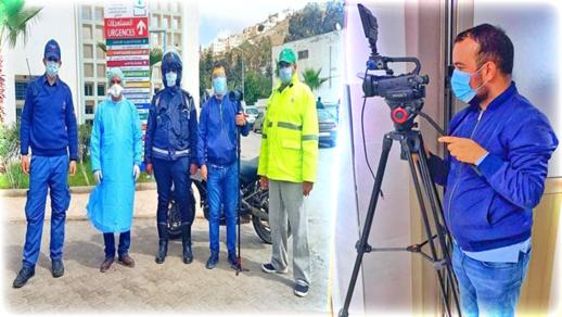 """بدر أعراب يكتب.. المصور الصحفي """"محمد العبوسي"""" واحد من """"الجنود المجهولين"""" في الحرب على """"كورونا"""" بالناظور"""