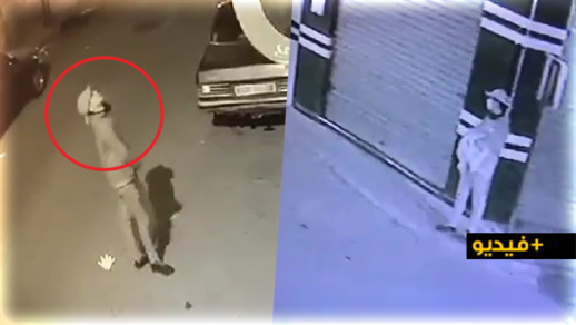 مثير.. كاميرات المراقبة ترصد كسر لص لأبواب المنازل بطريقة خطيرة بغرض السرقة بالناظور