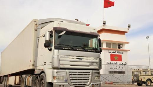 """فرنسا تتجه نحو إنشاء """"منطقة صناعية"""" في معبر الكركرات بعدما """"طهّره"""" الجيش المغربي من مرتزقة البوليساريو"""