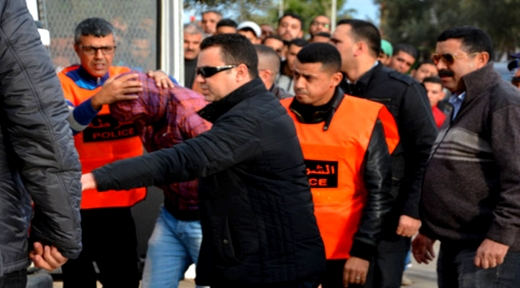 الشرطة القضائية تداهم سلوان وتعتقل مبحوثا عليه على المستوى الوطني في قضايا جنائية خطيرة