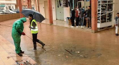 التسقطات المطرية بزايو تكشف المستور عن الشبكة المهترية للواد الحار