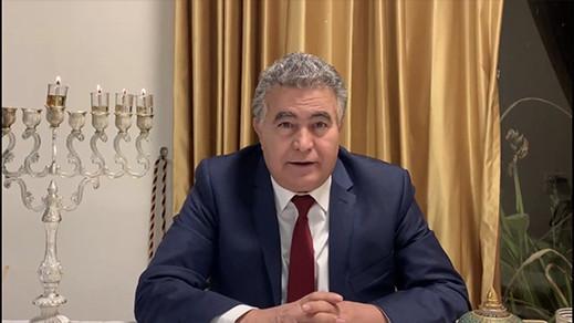 شاهدوا.. وزيرالإقتصاد الإسرائيلي يوجه تحية للمغاربة بالدارجة