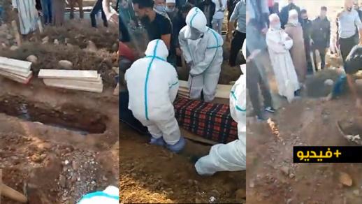 دون حضور ابنها .. تشييع جثمان والدة معتقل حراك الريف محمد حاكي في أجدير بإقليم الحسيمة