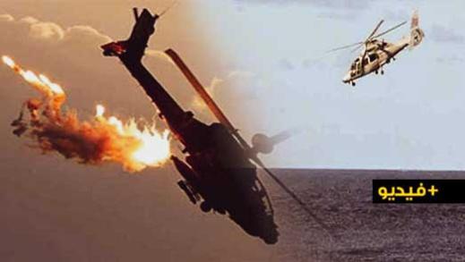 شاهدوا.. سقوط طائرة عسكرية جزائرية يتسبب في مقتل ملازم واختفاء ضابطين