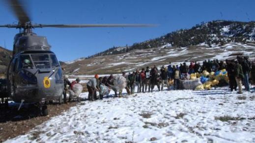 سكان مناطق الرّيف النائية يترقبون حملات إغاثة لمساعدتهم على مواجهة موجة البرد والثلوج