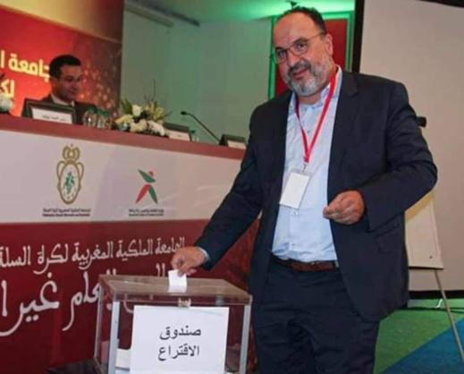 انتخاب الناظوري مصطفى أوراش رئيسا للجامعة الملكية المغربية لكرة السلة