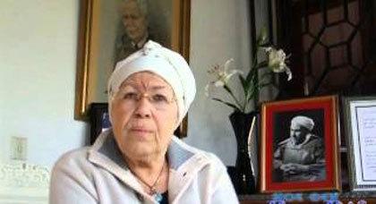 عائشة الخطابي تناشد الملك ارجاع رفات والدها الى المغرب واعتبار 2013 سنة الخطابي